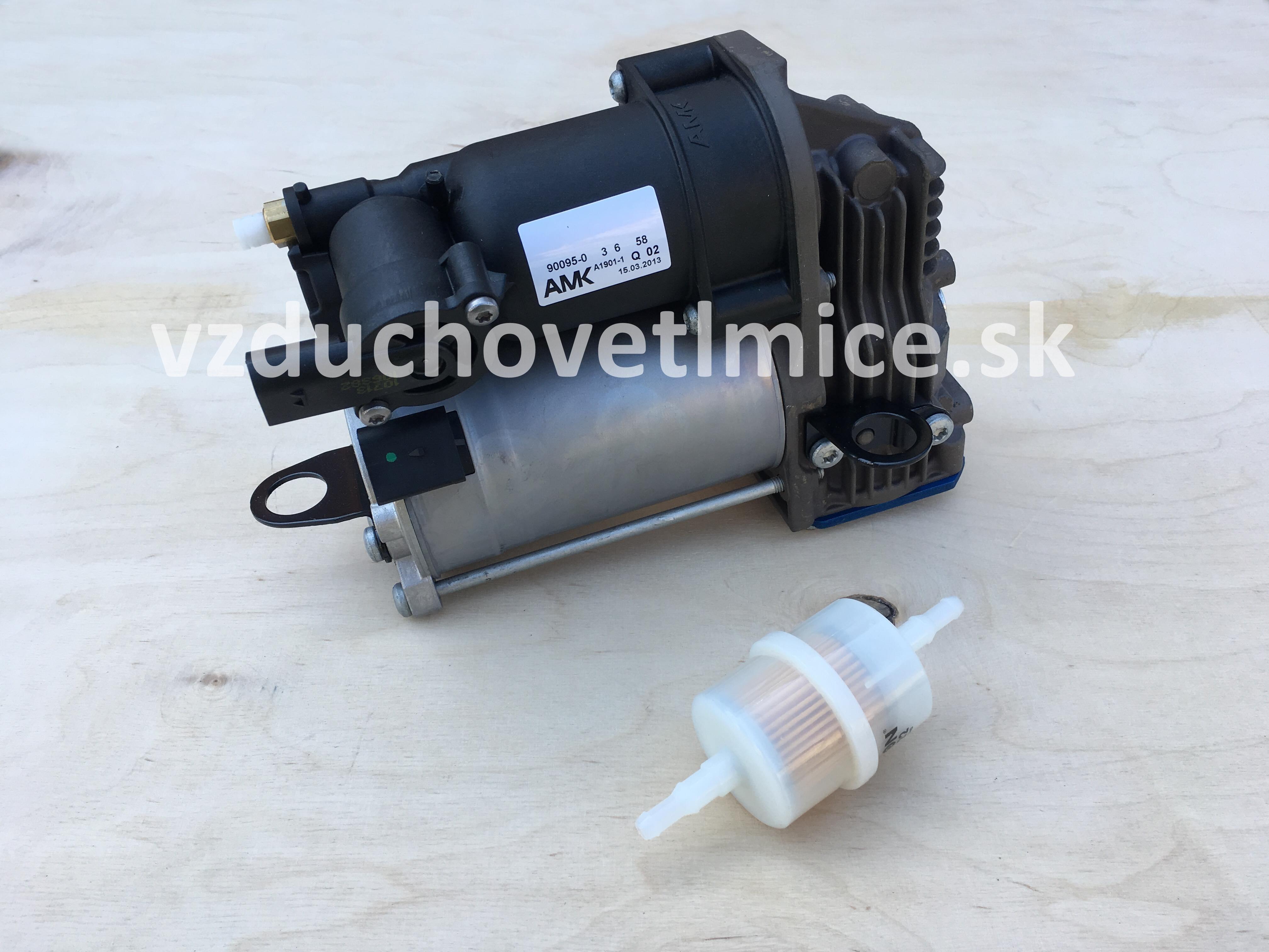 Vzduchový kompresor podvozku AMK Mercedes Benz ML/GL-class W166/X166