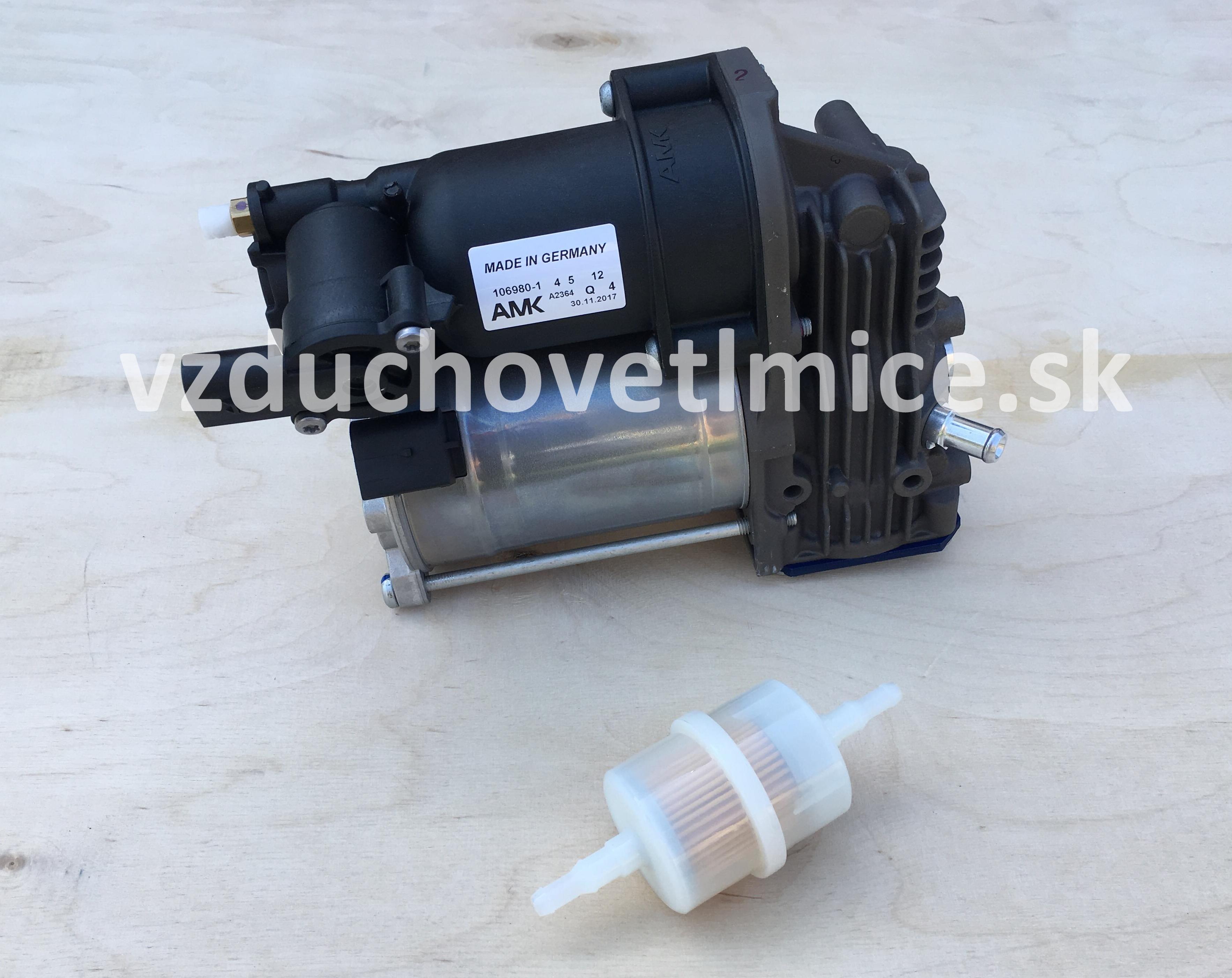 Vzduchový kompresor podvozku AMK Mercedes Benz Vito/Viano-class W639